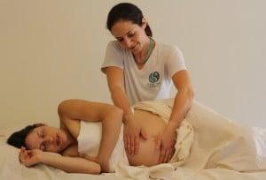 עיסוי נשים בהריון
