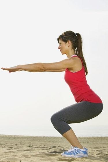 שרירי ישבן וירך חזקים יקלו על עמידה נכונה