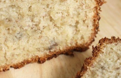 עוגה בחושה – עוגת בננות ודבש